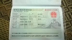 thu tuc visa trung quoc