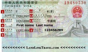 visa trung quoc 1 nam