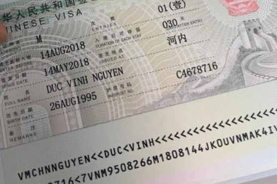 Visa thương mại trung quốc